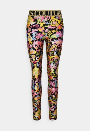 LADY FUSEAUX - Leggings - Trousers - black