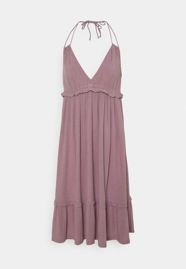 VIMESA HALTERNECK SHORT DRESS - Sukienka letnia - elderberry