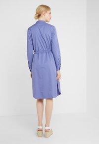 BOSS - ESPIRIT - Shirt dress - dark purple - 2