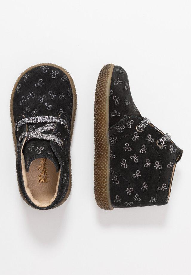 SEAHORSE - Baby shoes - schwarz