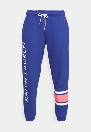 ANKLE-ATHLETIC - Tracksuit bottoms - beach royal