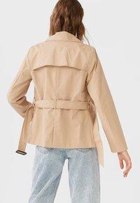 Stradivarius - Short coat - brown - 2
