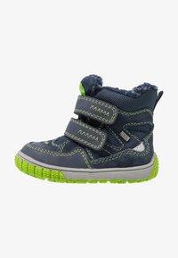 Lurchi - JAUFEN TEX - Winter boots - navy/green - 1