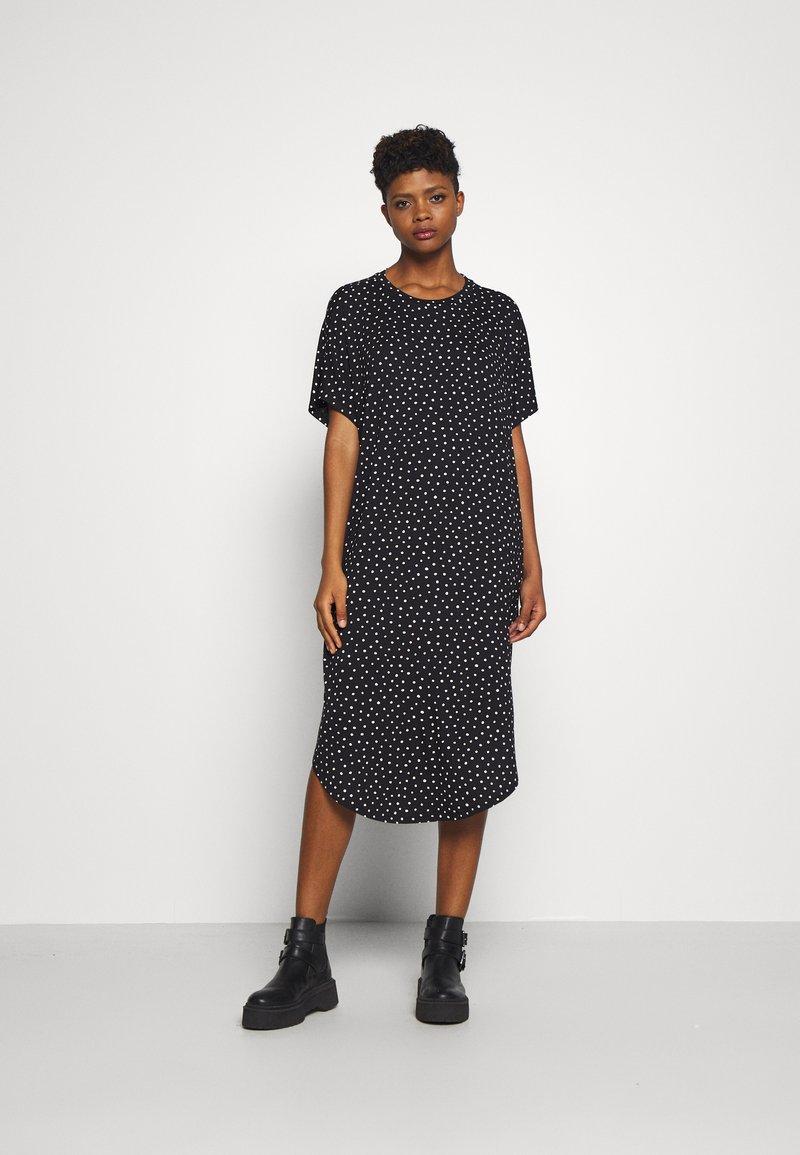 Monki - ROMA DRESS - Jerseykjole - black