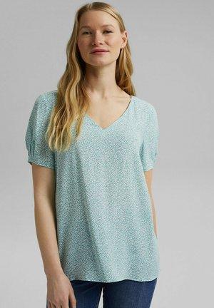 Camiseta estampada - light aqua green