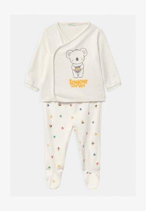 UNISEX - Pyjama set - white