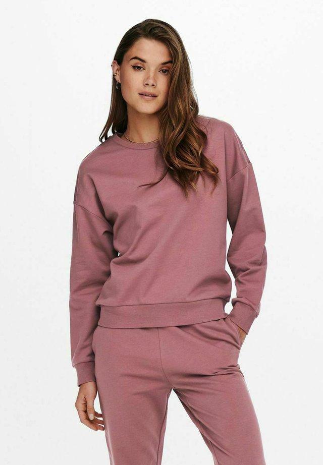 Sweater - rose brown