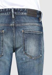 CLOSED - DROP CROPPED - Zúžené džíny - mid blue - 2