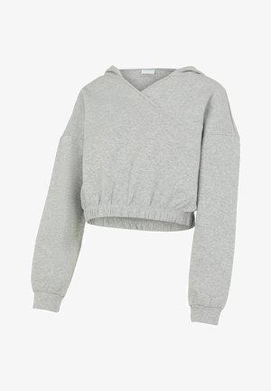 PCMLINSA - Hoodie - light grey melange