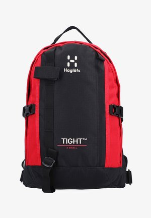 TIGHT X-SMALL - Rucksack - true black/scarlet red