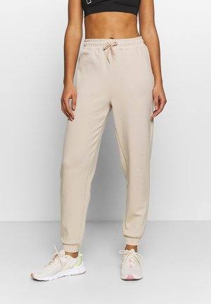 ONPLOUNGE PANTS - Tracksuit bottoms - beige