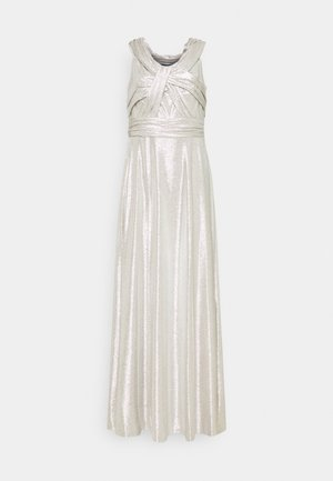 QUINCY SLEEVELESS EVENING DRESS - Festklänning - silver