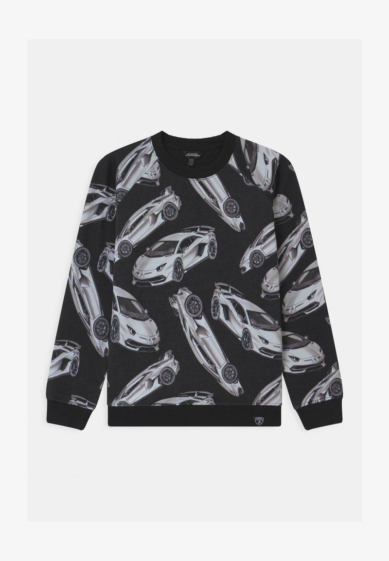 Automobili Lamborghini Kidswear - AVENTADOR - Sweater - black pegaso