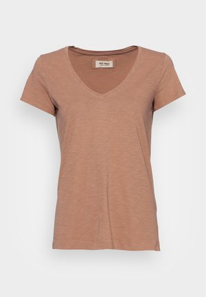 ARDEN ORGANIC TEE - Basic T-shirt - woodsmoke