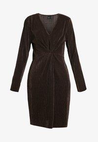 Gina Tricot - PLEATED DRESS - Day dress - java - 6