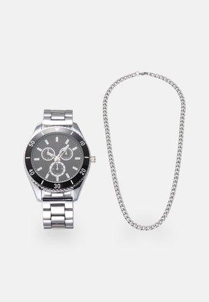 SET - Hodinky - silver-coloured