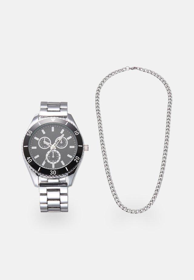 SET - Rannekello - silver-coloured