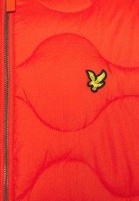 Lyle & Scott - WADDED JACKET - Light jacket - burnt orange - 7