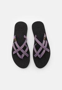 Teva - OLOWAHU - T-bar sandals - falls twilight mauve - 3