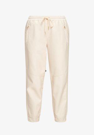 REGULAR - Trousers - light sand