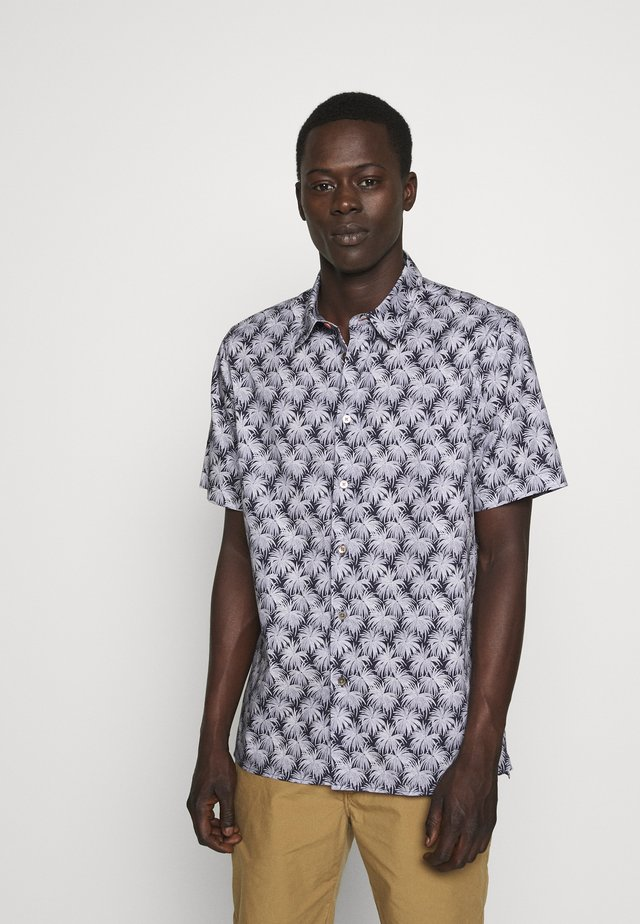 MENS CASUAL PALM - Shirt - navy