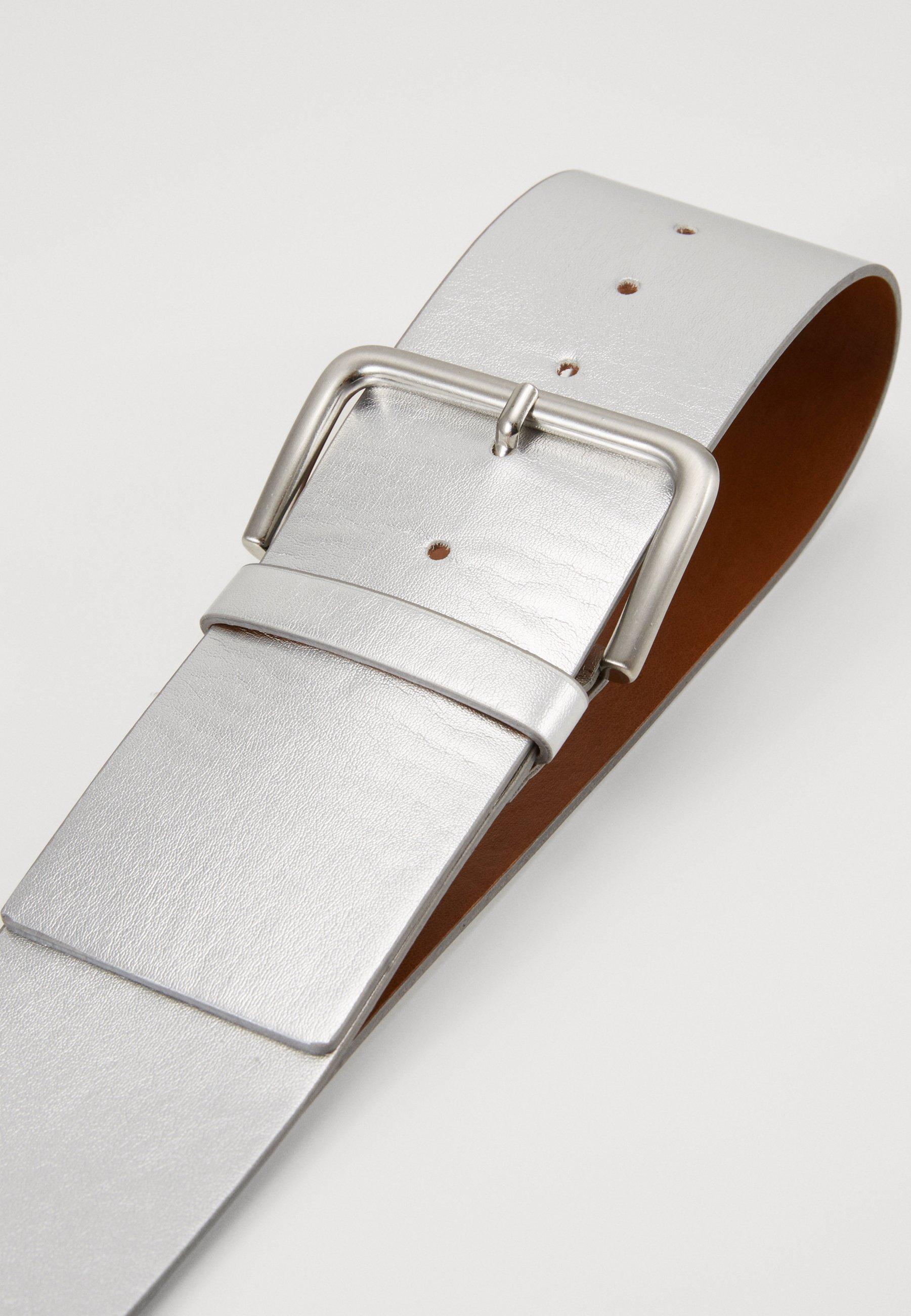 Esprit WIDE HIP BELT - Midjebelte - silver/sølv SQ547FSJnL3d1nt