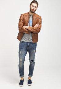 Pier One - Jeans slim fit - destroyed denim - 1