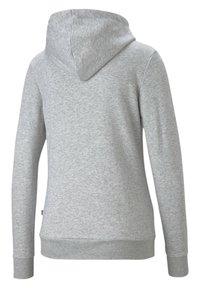 Puma - Felpa con cappuccio - light gray heather - 4