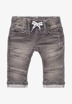 Straight leg jeans - light grey denim