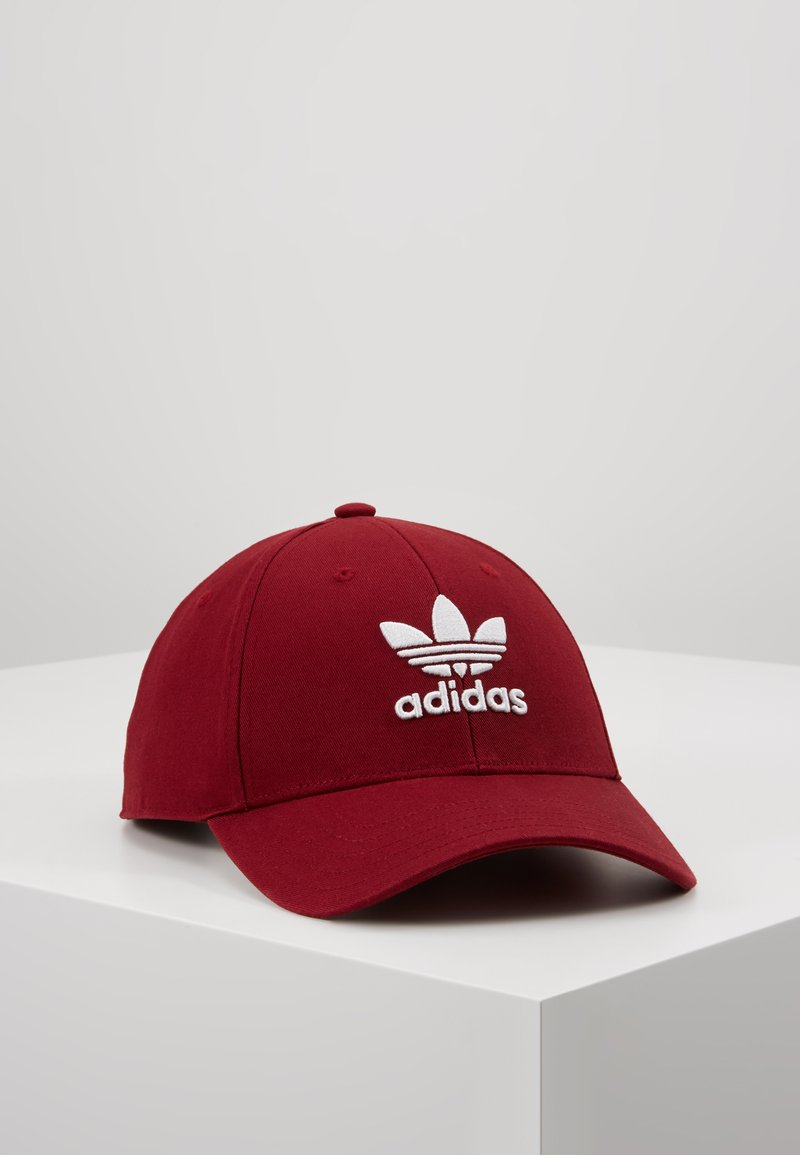 adidas Originals - BASE CLASS UNISEX - Caps - burgundy/white