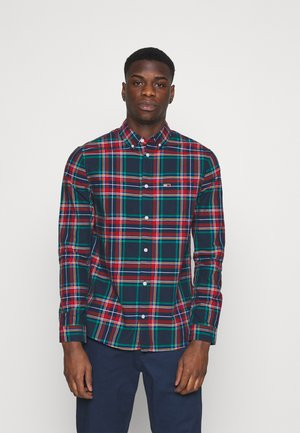 OXFORD CHECK - Skjorta - deep crimson/multi