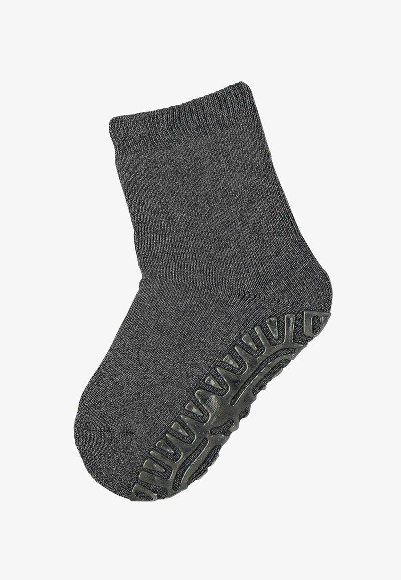 Sterntaler - FLIESEN FLITZER ANTIRUTSCH SOCKEN UNI - Socks - anthrazit meliert