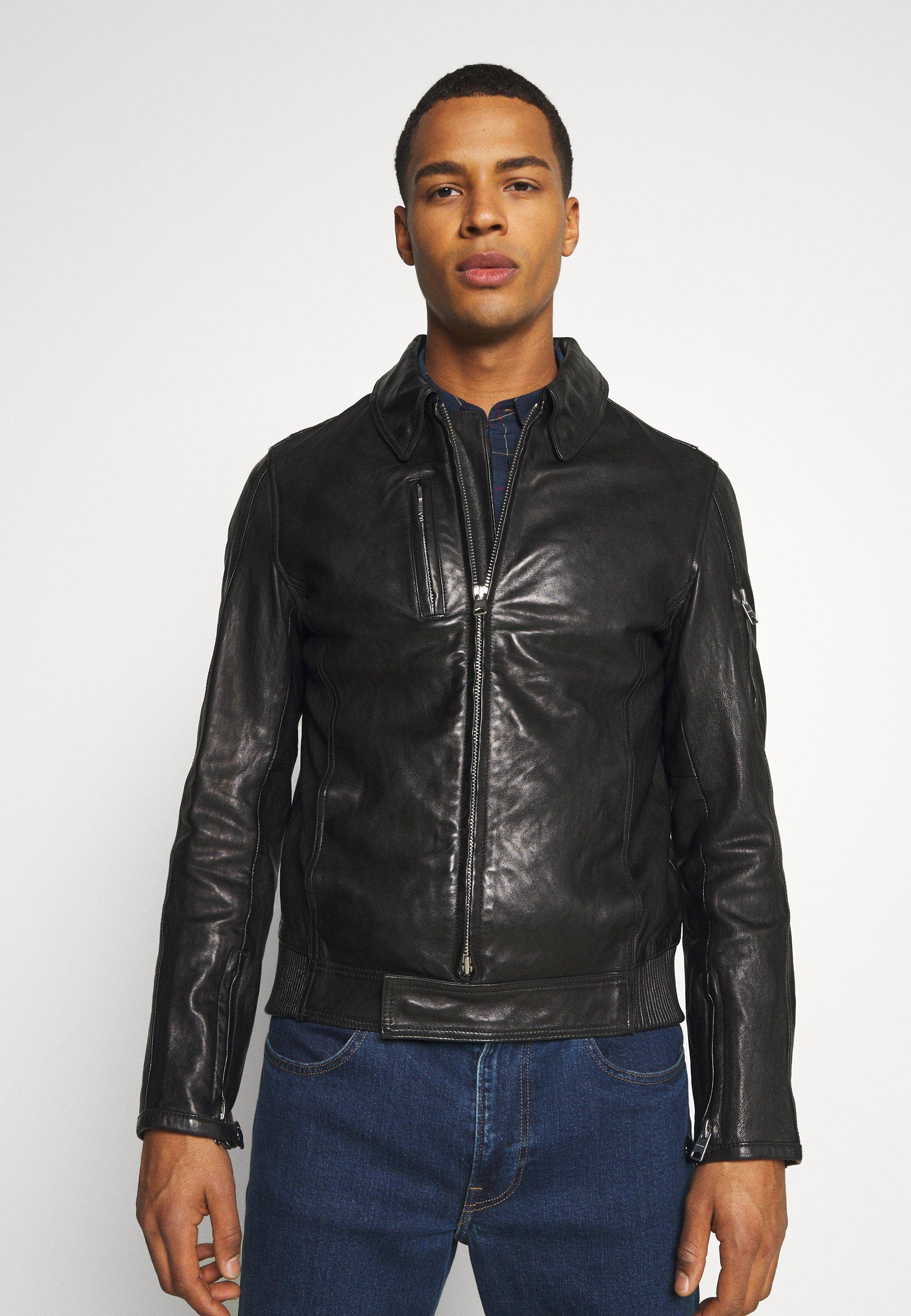 Men KALEB JACKET - Leather jacket