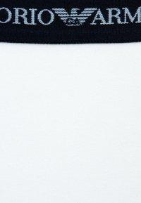 Emporio Armani - 2 PACK - Sada spodního prádla - white/blue - 3
