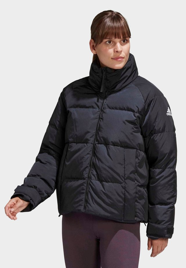GLAM ON PUFFER DOWN JACKET - Down jacket - black