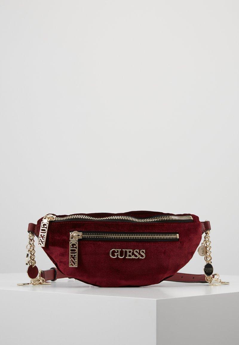 Guess - RONNIE - Bum bag - merlot
