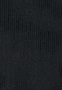 NA-KD - FRONT TIE CARDIGAN - Cardigan - black - 2