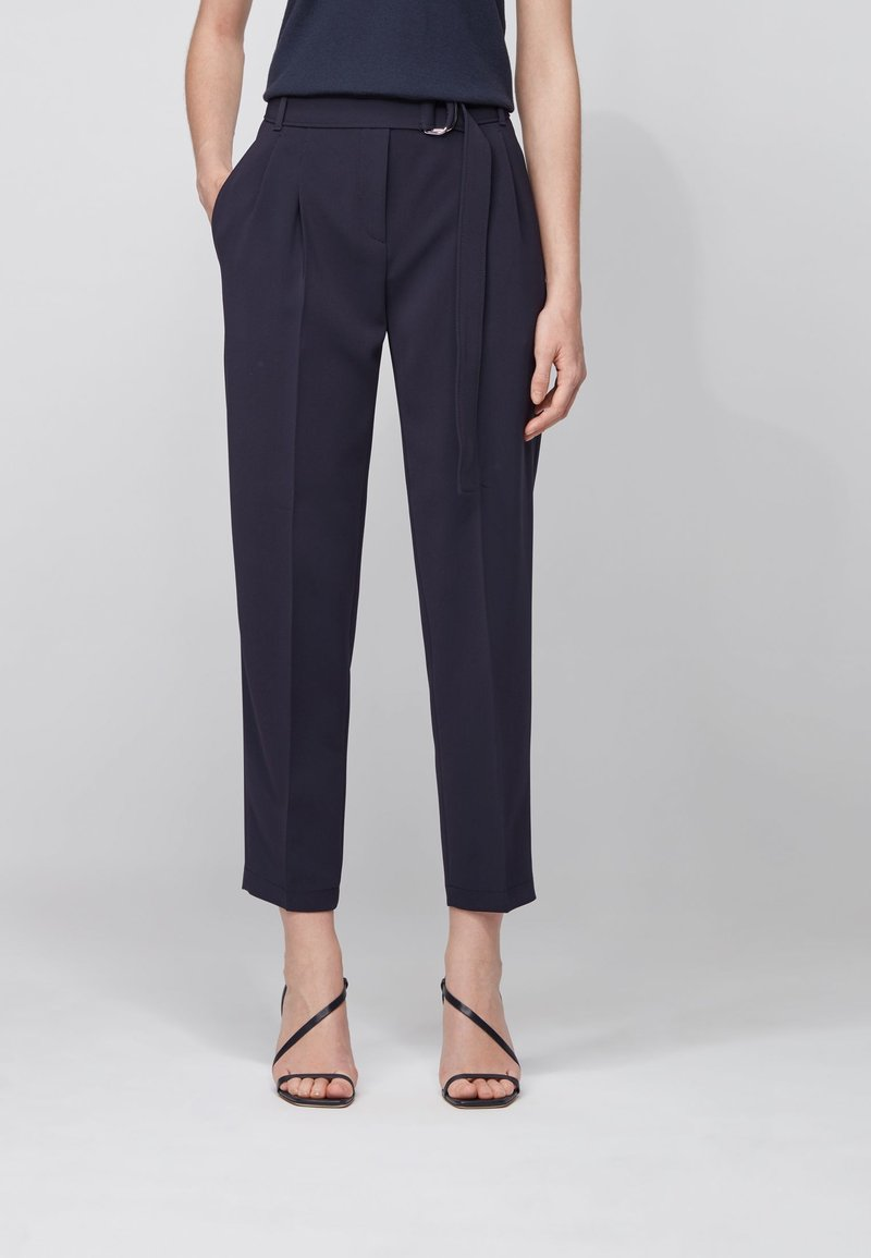 BOSS - TAPIA - Trousers - open blue