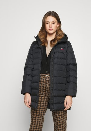 CORE MID - Down coat - caviar