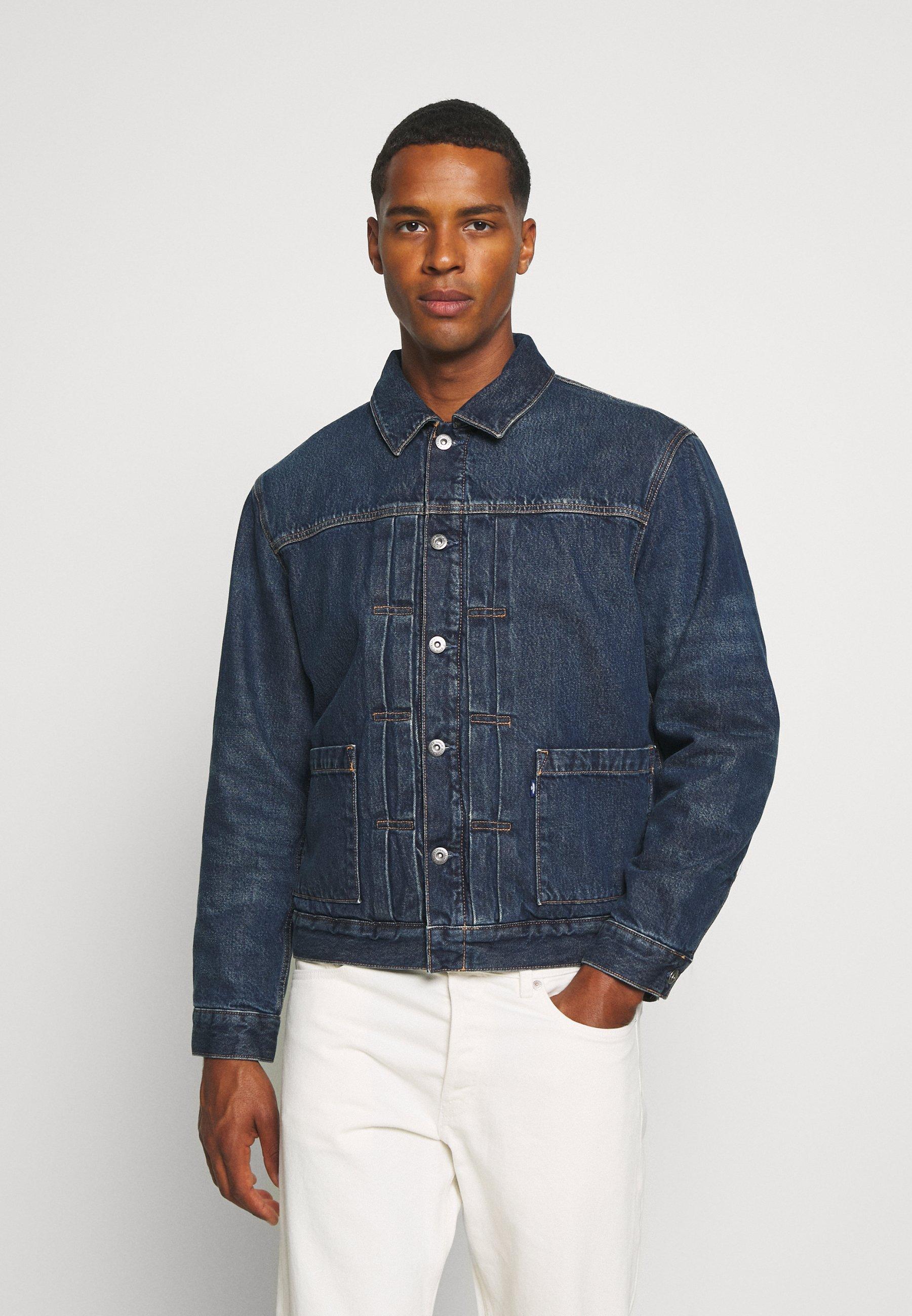 Men TYPE SHERPA TRUCKER UNISEX - Denim jacket