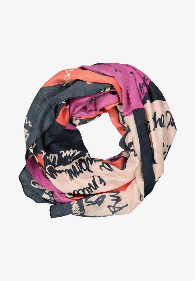 Sjaal - hibiskusrot