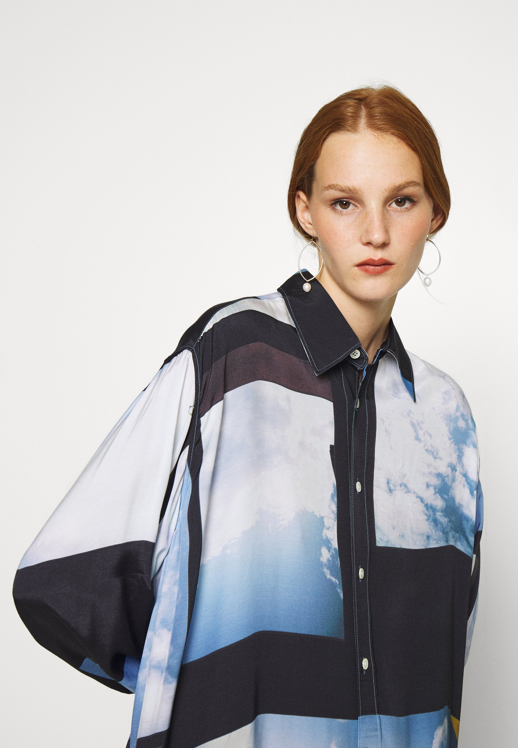 Exclusive Women's Clothing Hope FREE Button-down blouse heaven blue xkCxQE86g