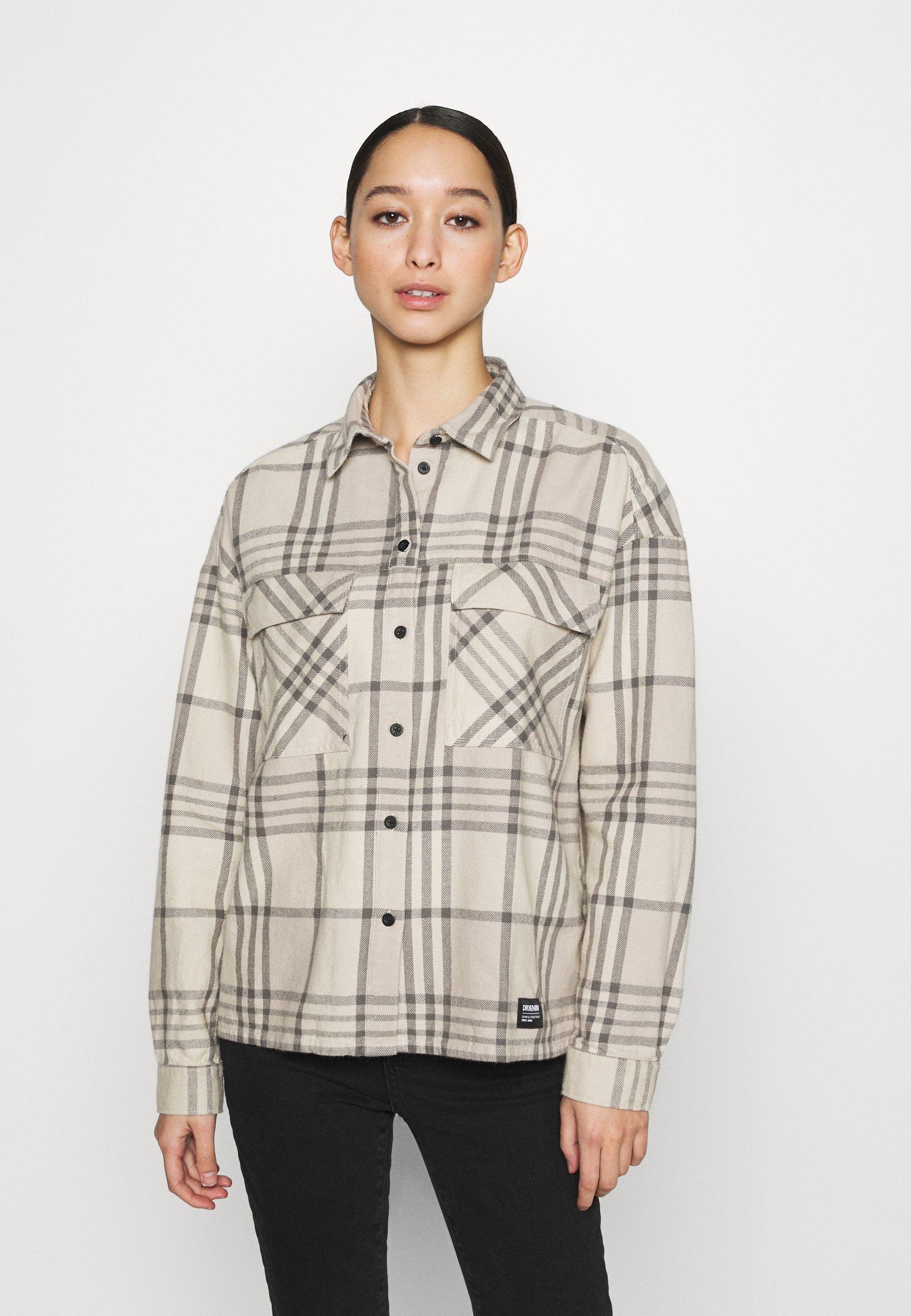Women NATAHLIE  - Button-down blouse - cashew