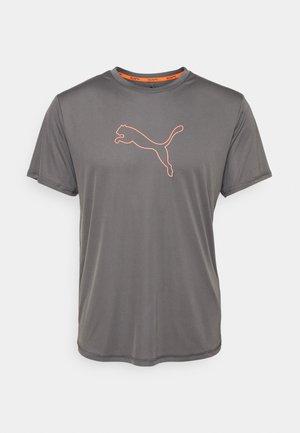 RUN LAUNCH LOGO TEE  - Print T-shirt - castlerock