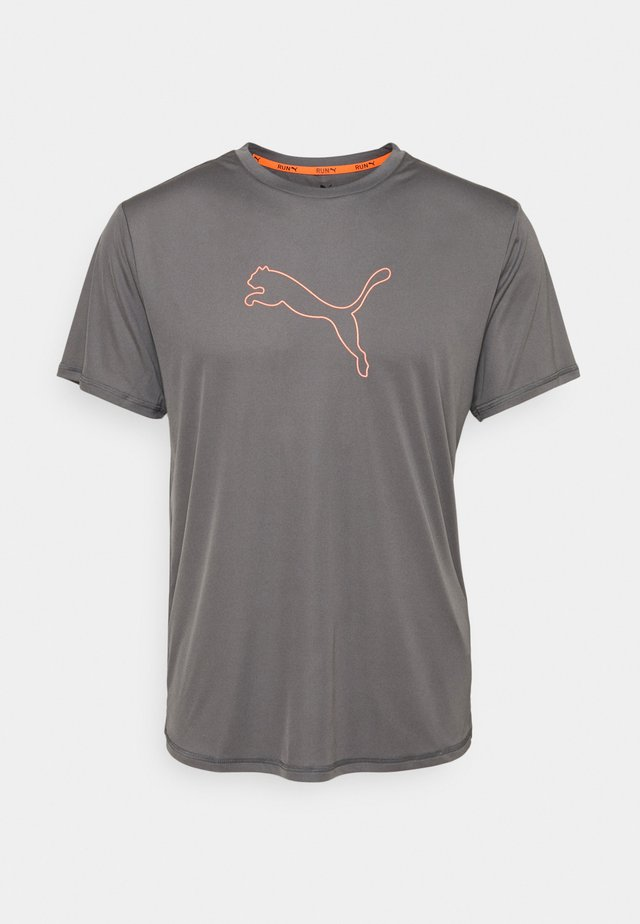 RUN LAUNCH LOGO TEE  - T-shirt con stampa - castlerock