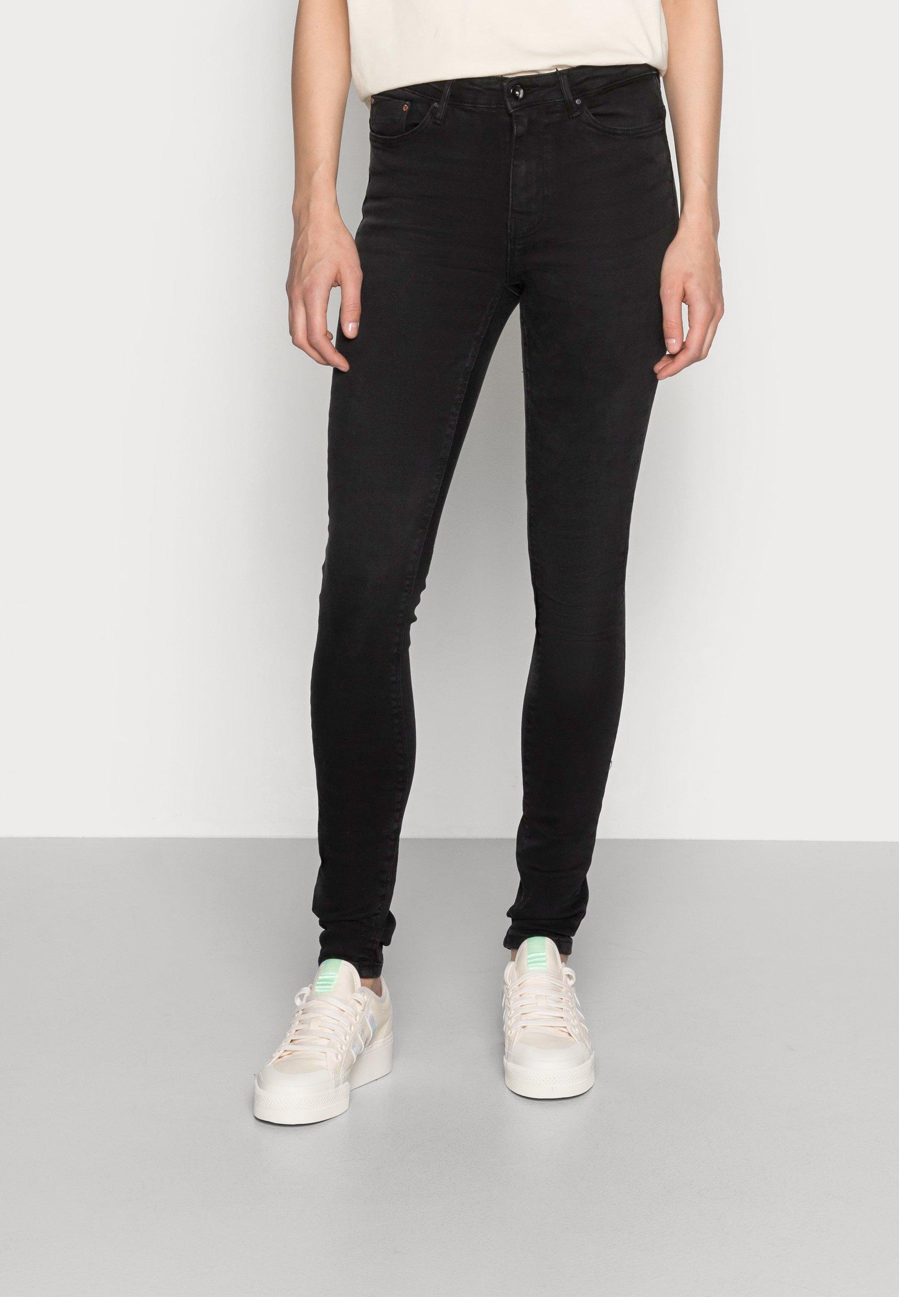 Women ONLPAOLA - Jeans Skinny Fit - black