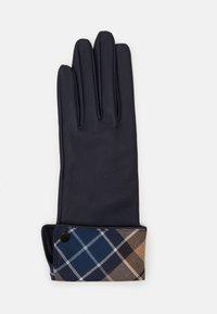 Barbour - LADY JANE GLOVES - Gloves - dark navy/tempest trench - 1
