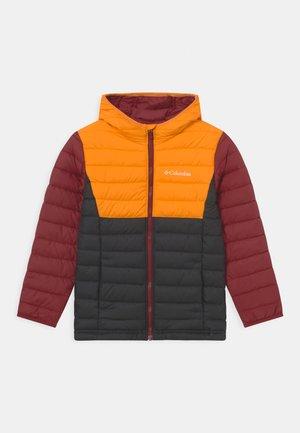 POWDER LITE™ BOYS HOODED - Lyžařská bunda - flame orange/red jasper