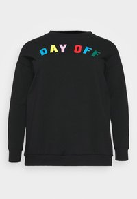 CAPSULE by Simply Be - DAY OFF - Sweatshirt - black - 4