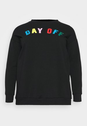 DAY OFF - Sweatshirts - black
